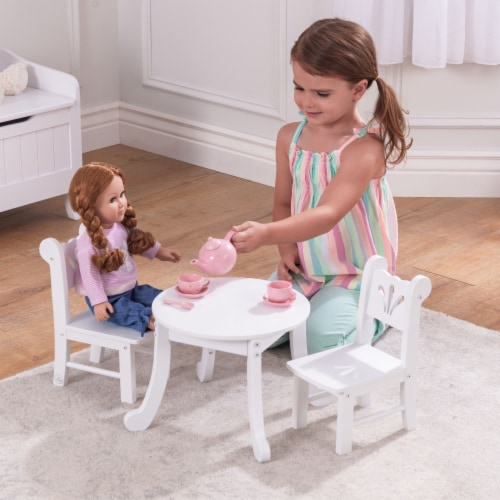 KidKraft Lil' Doll Table & Chair Set Perspective: back