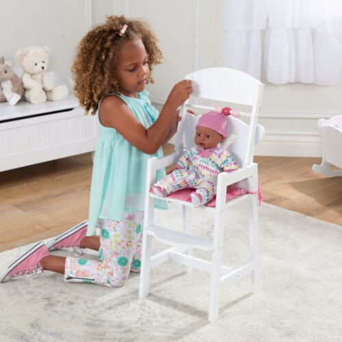 KidKraft Lil' Doll High Chair Perspective: back