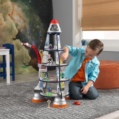 KidKraft Rocket Ship Play Set Perspective: back