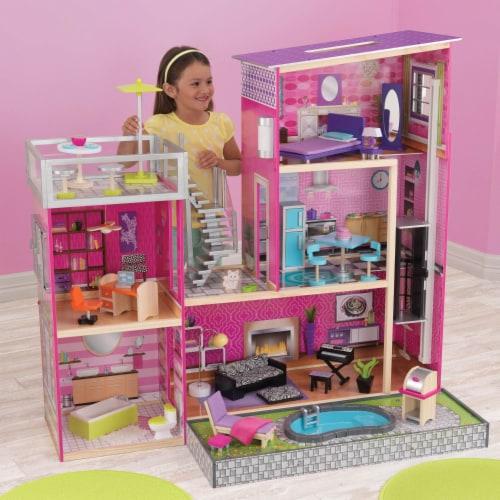 KidKraft Uptown Dollhouse Perspective: back