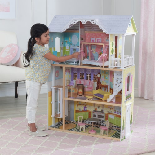 KidKraft Kaylee Dollhouse Perspective: back