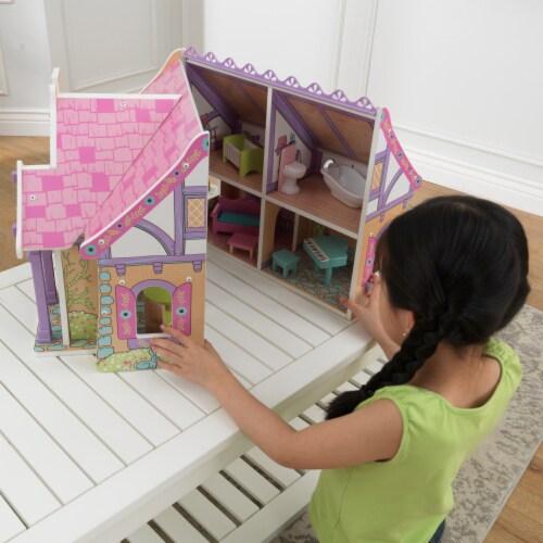 KidKraft Enchanted Forest Dollhouse Perspective: back