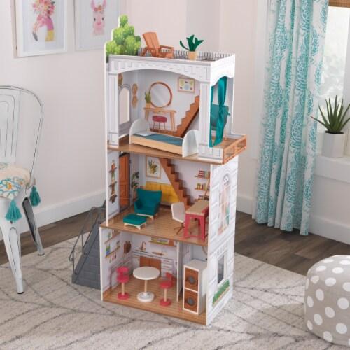 KidKraft Rowan Dollhouse Perspective: back