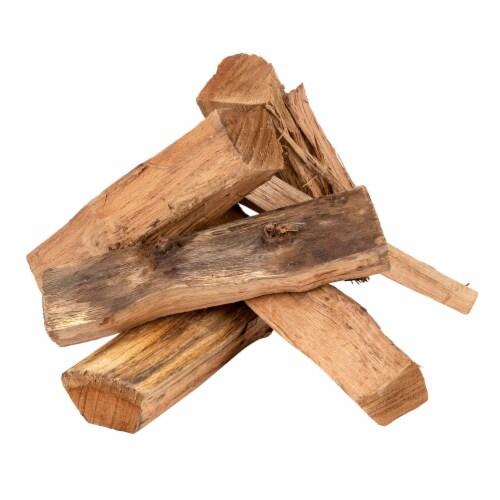 Smoak Firewood 16 Inch Logs Kiln Dried Premium Oak Firewood with Firestarter Perspective: back