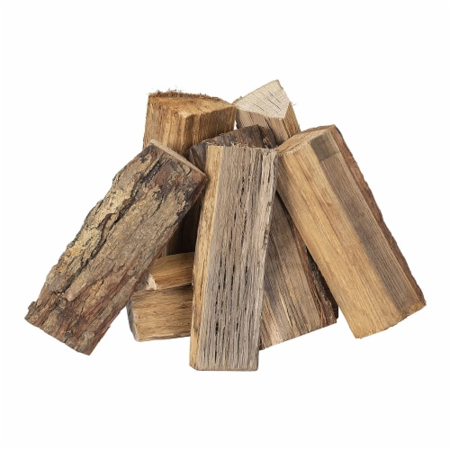 Smoak Firewood Kiln Dried Cooking Grade 16 Inch Wood Logs, Hickory, 60-70 lbs Perspective: back