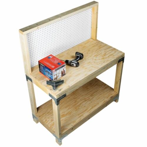 Simpson Strong-Tie Workbench & Shelf Kit WBSK Perspective: back