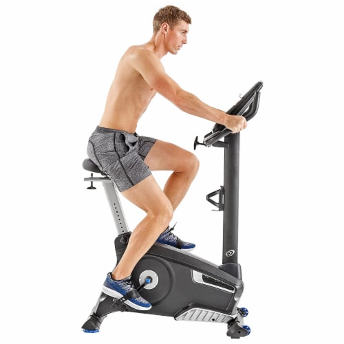 Nautilus U616 Performance Series Upright Home Gym Workout Cardio Exercise Bike Perspective: back