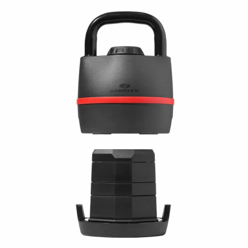 Bowflex SelectTech Adjustable Compact Kettlebell Exercise Weight, 8 to 40 Pounds Perspective: back