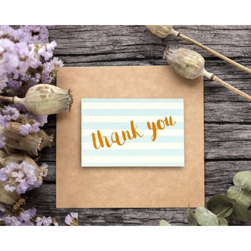 48 Assorted Greeting Cards Birthday, Thank You, Wedding, Blank Inside w/Envelope Perspective: back