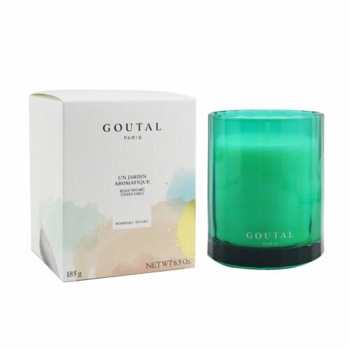 Goutal (Annick Goutal) Refillable Scented Candle  Un Jardin Aromatique 185g/6.5oz Perspective: back