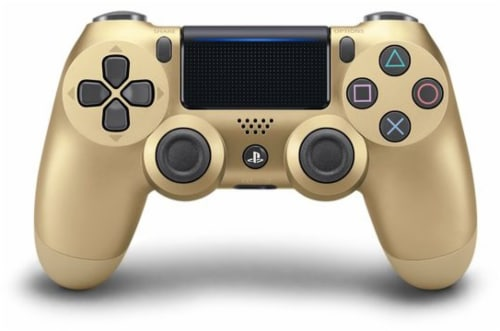 Sony Playstation4 DualShock4 Controller - Gold Perspective: back