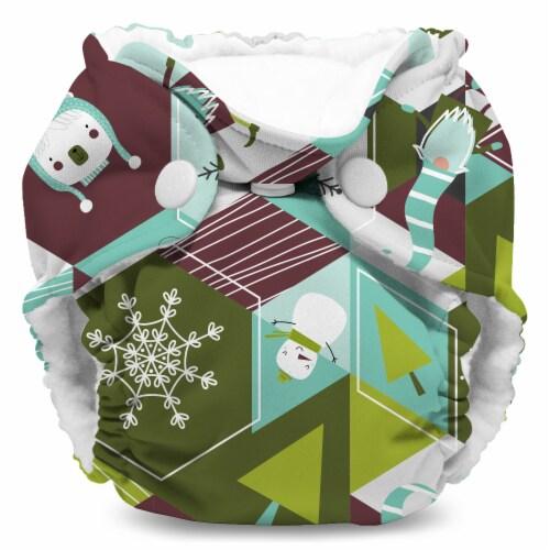 Kanga Care Lil Joey Cloth Diaper (2pk) Frolic Perspective: back