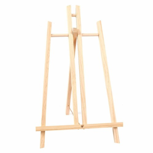 Wood Easels, Easel Stand for Painting, Art, and Crafts (9 x 14.8 in, 12 Pack) Perspective: back