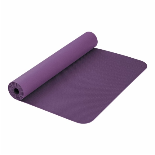 Airex Calyana Prime Closed Cell Foam Fitness Mat for Yoga and Pilates, Purple Perspective: back