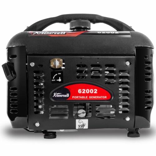 2000W Generator Gas-Portable Quiet RV Camping 4-Stroke, Black Perspective: back
