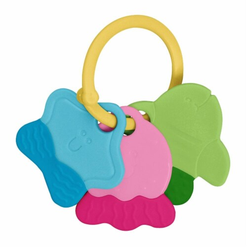 Green Sprouts Teether Keys Perspective: back