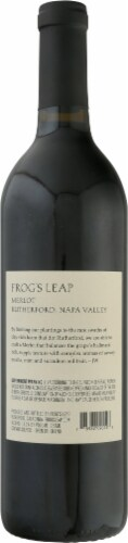 Frog's Leap Winery Napa Valley Merlot Perspective: back