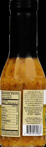Margie's Mango Herb & Garlic Sauce Perspective: back