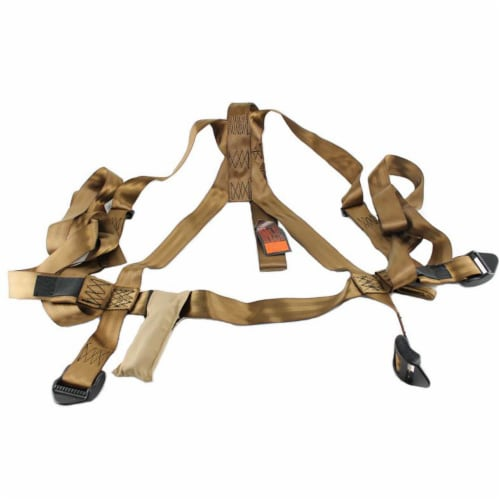 Summit Openshot 81115 SD Self Climbing Treestand for Bow & Rifle Deer Hunting Perspective: back