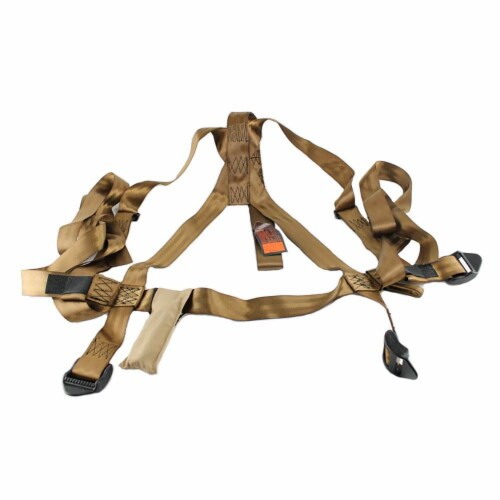 Summit 180° Max SD Self Climbing Treestand for Bow & Rifle Deer Hunting   81116 Perspective: back