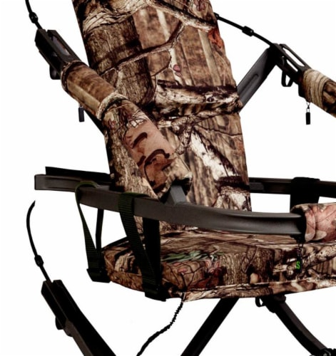 Summit Viper SD 81120 Self Climbing Treestand 300 Lbs - Bow & Rifle Deer Hunting Perspective: back