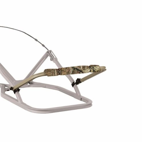 Summit SU85252 Large Adjustable Hunting Shooting Treestand Gun Rest Rail w/ Pad Perspective: back