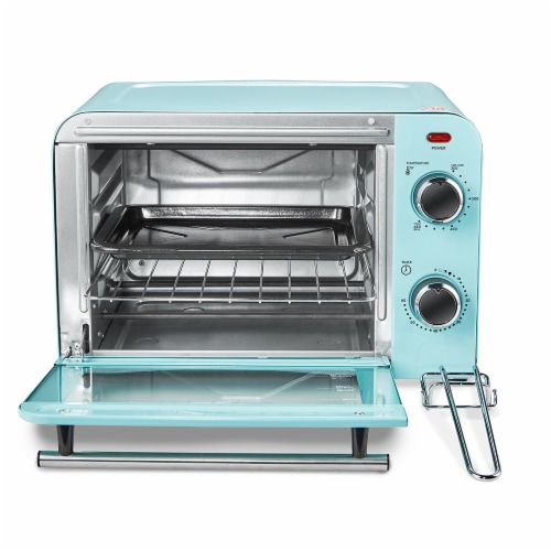 Elite Gourmet Americana Collection Retro 4-Slice Toaster Oven Perspective: back
