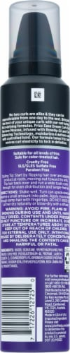 John Frieda Frizz Ease Curl Reviver Styling Mousse Perspective: back