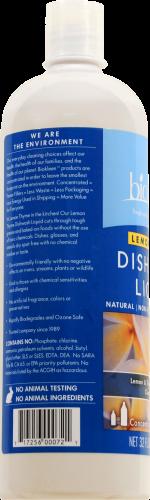 Biokleen Lemon Thyme Dish Wash Perspective: back