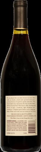 Fess Parker Pinot Noir Perspective: back