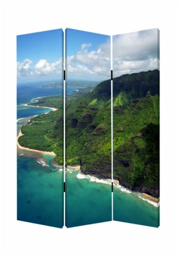 Screen Gems PALM / TROPICAL SCREEN SG-224 Perspective: back