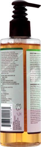 Desert Essence Organics Thoroughly Clean Face Wash Perspective: back