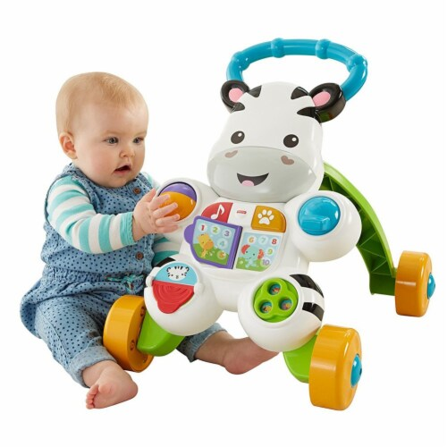 Fisher Price Learn with Me Zebra Walker Perspective: back