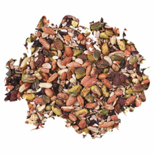 Wild Delight Woodpecker, Nuthatch N' Chickadee Bird Seed w/ Real Fruit and Nuts Perspective: back