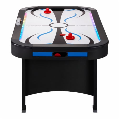 Fat Cat Supernova LED Air-Powered Hockey Table Perspective: back