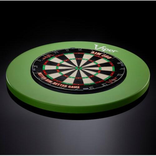 Viper Guardian Dartboard Surround Green Perspective: back