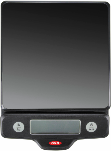 OXO Soft Works Food Scale - Black Perspective: back