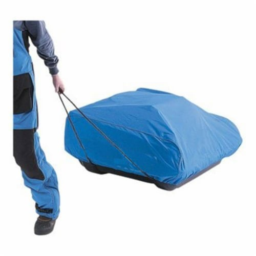 CLAM Travel PopUp Cover for Nanook, Guide, Blazer & Nordic Sled Ice Fish Shelter Perspective: back