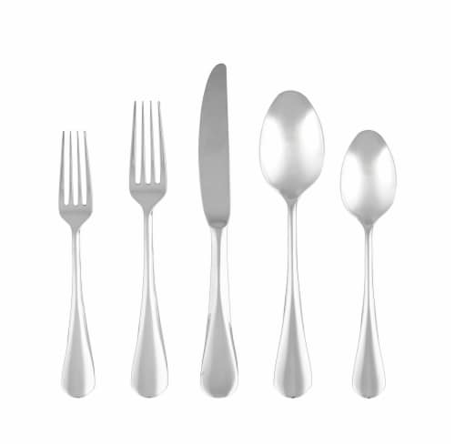 Cambridge Silversmiths Eloquence Flatware Set - Mirror Perspective: back