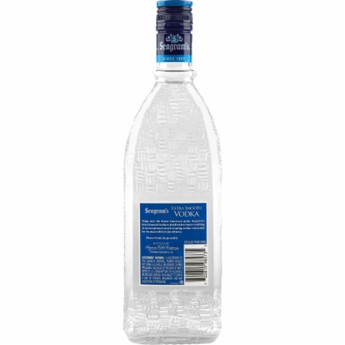 Seagram's® Extra Smooth Vodka Perspective: back