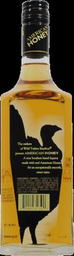 Wild Turkey American Honey Bourbon Whiskey Perspective: back