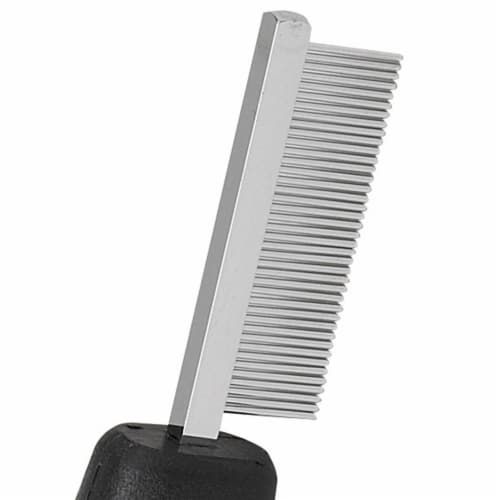 Master Grooming Tools Face & Finishing Combs — Ergonomic Combs for Grooming Dogs, 6¼ Perspective: back