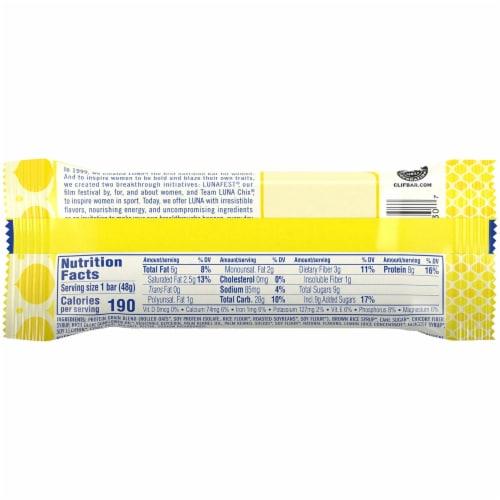 Luna Lemonzest Whole Nutrition Bar Perspective: back