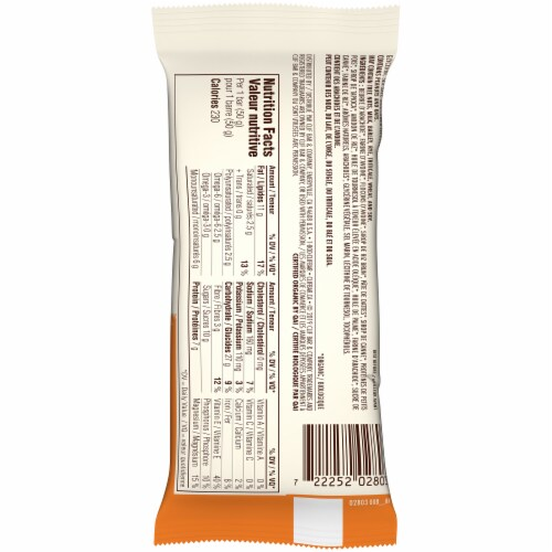 Clif Bar Salted Caramel Cashew Whey Protein Bars Perspective: back