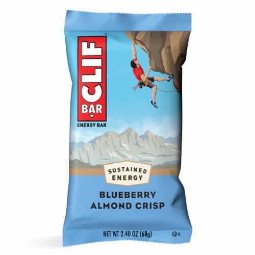 Clif Bar Blueberry Crisp Energy Bars Perspective: back
