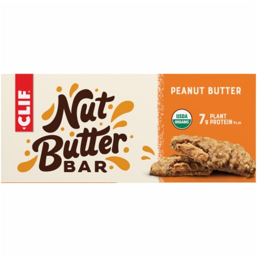 Clif Bar Nut Butter Filled Peanut Butter Bars Perspective: back