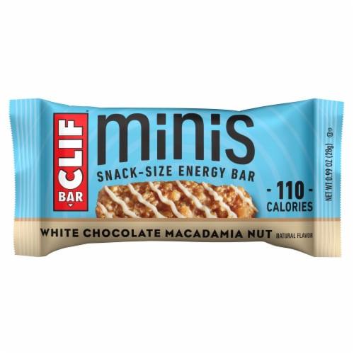 Clif Bar® White Chocolate Macadamia Nut Flavor Mini Energy Bars Perspective: back