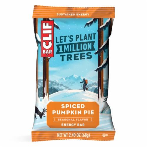 Clif Bar Spiced Pumpkin Pie Energy Bars Perspective: back