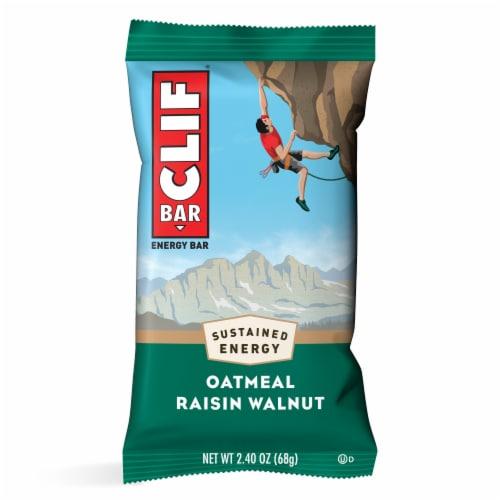 Clif Bar Oatmeal Raisin Walnut Energy Bars Perspective: back