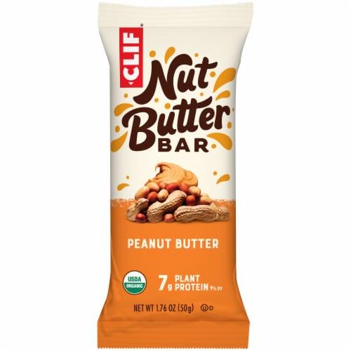 Clif Bar Nut Butter Filled Peanut Butter Energy Bars Perspective: back